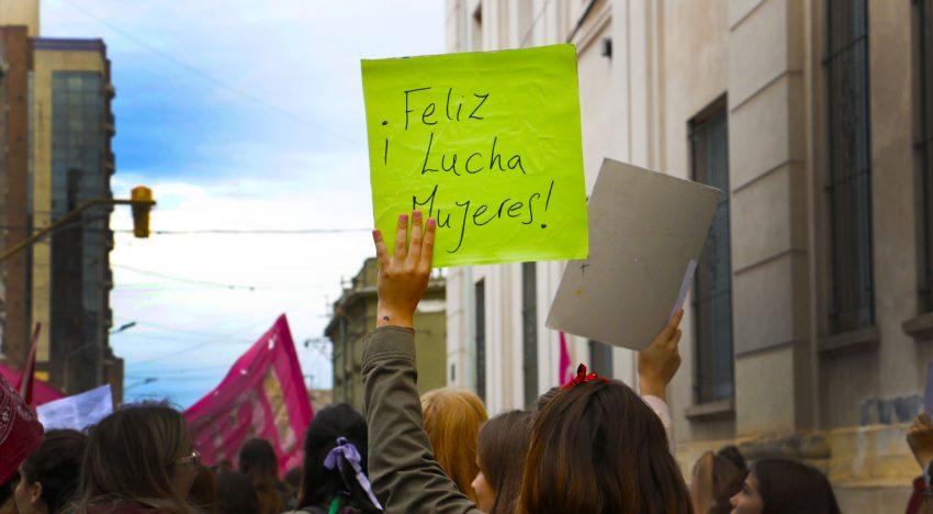 8M. Postales de la marcha en Río Cuarto.
