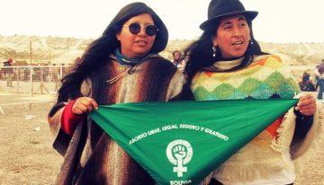 «El primer espacio donde debemos ser reconocidas como mujeres originarias es en el movimiento de mujeres»