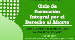 CICLO DE FORMACION INTEGRAL POR EL DERECHO AL ABORTO: 3° encuentro: Política de Salud y Aborto