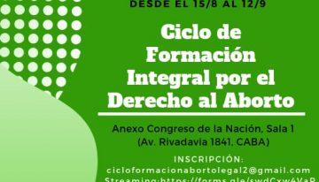 CICLO DE FORMACION INTEGRAL POR EL DERECHO AL ABORTO: 4° encuentro: ESI