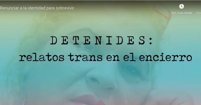 Detenides: relatos trans en el encierro