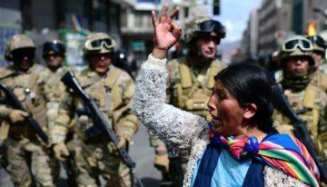 Urgente! Represión en Bolivia a quienes descendieron del Alto velando a sus muertos