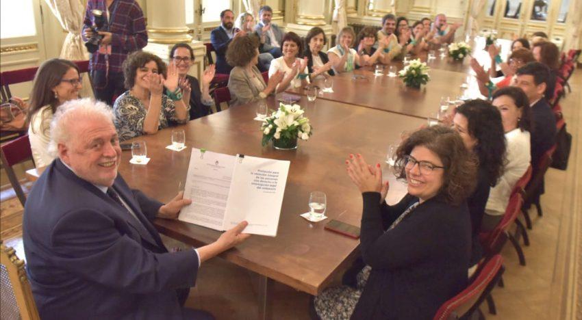 El protocolo firme del Ministerio Verde