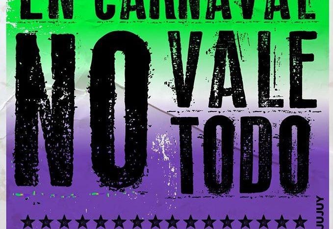 En carnaval no vale todo.