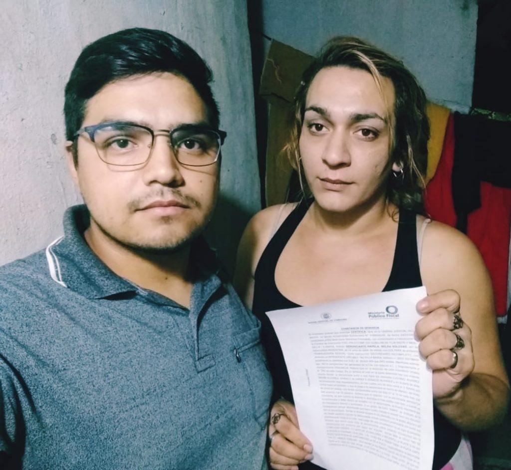 El desalojo, por el que fueron señaladxs Ivana Cortez y su hijo Brian Álvarez, se consumó a la 00:30 de la madrugada del domingo 29.