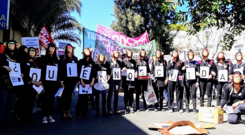Cuidemos a quien nos cuida: Trabajadoras del Polo de la Mujer de Córdoba denuncian falta de medidas de protección y precarización laboral