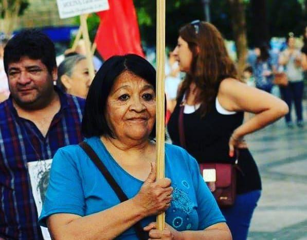 Olga Acosta, militante política y barrial