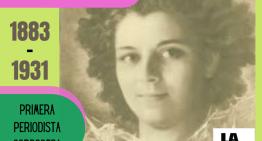 Leonor Allende. Primera periodista mujer de Córdoba