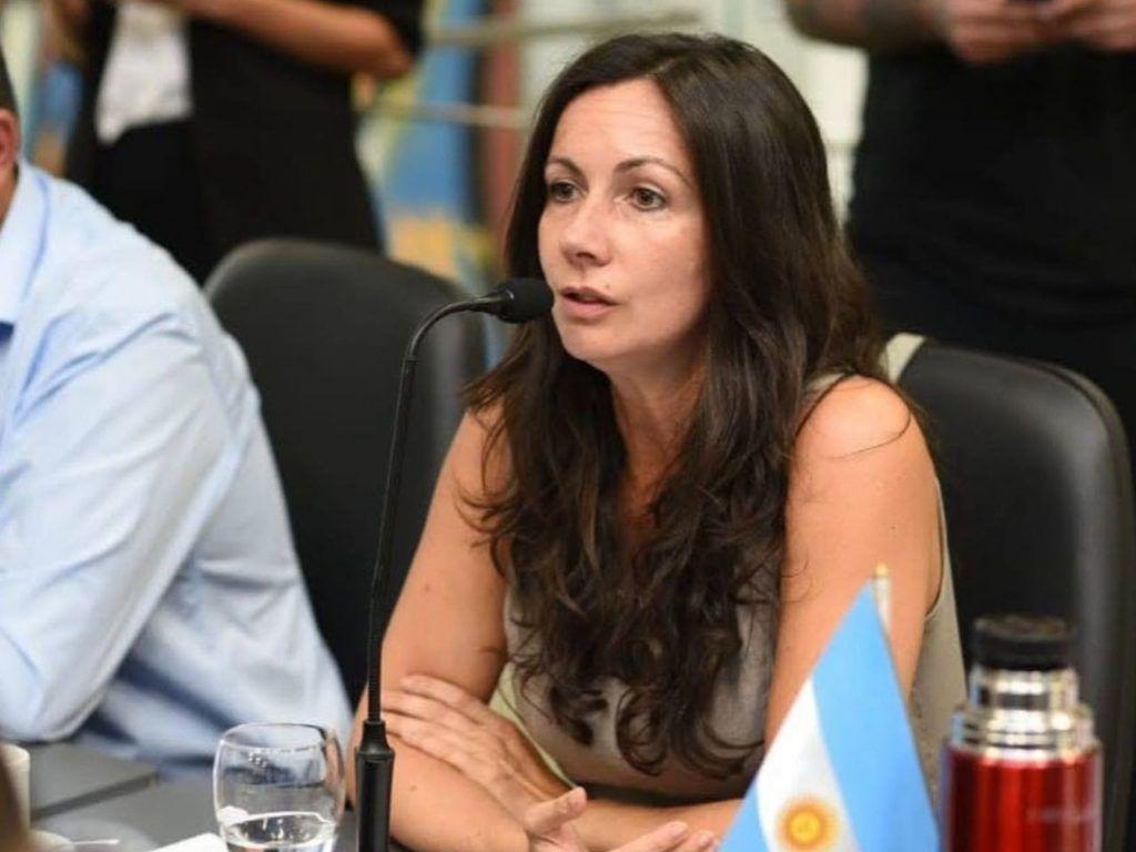 Concejala Soledad Ferraro. Foto: Concejo Deliberante.