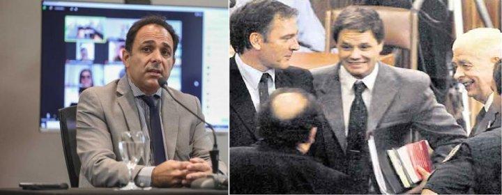 Juan Manuel Delgado y Pablo Bustos Fierro (en orden de aparición)